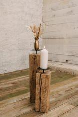 Altholz Kerzenständer (klein)