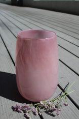 Vase MADGEE Glas light pink