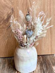 Vase BLUSH inkl. Trockenblumen