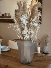 Vase SARENGO inkl. Trockenblumen