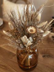 Vase RUST inkl. Trockenblumenstrauss