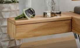 Hängenachttisch mit Schublade